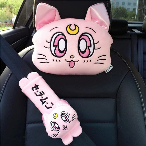 Sailormoon Headrest And Shoulder pad PN0880