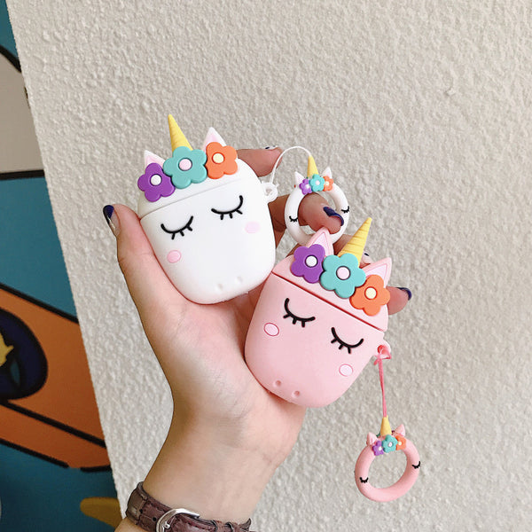 Beautiful Unicorn Airpods Case For Iphone PN1542