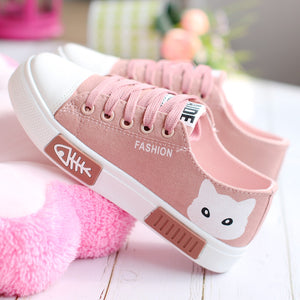 Kawaii Cat Canvas Shoes PN2881