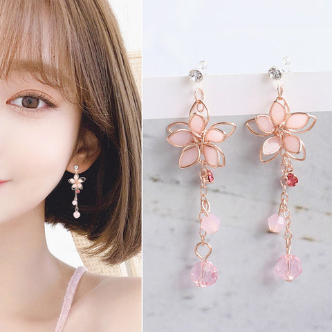 Fashion Sakura Earrings/Clips PN2694