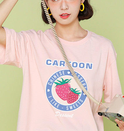 Kawaii Strawberry Tshirt PN2418