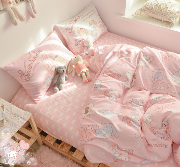 Cute Anime Bedding Set PN3583