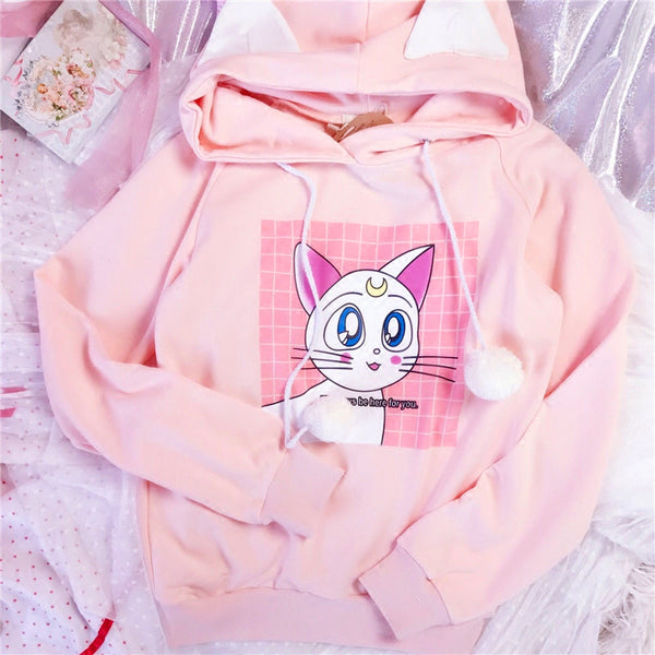 Sailormoon Artemis Long Sleeved Sweater PN0247