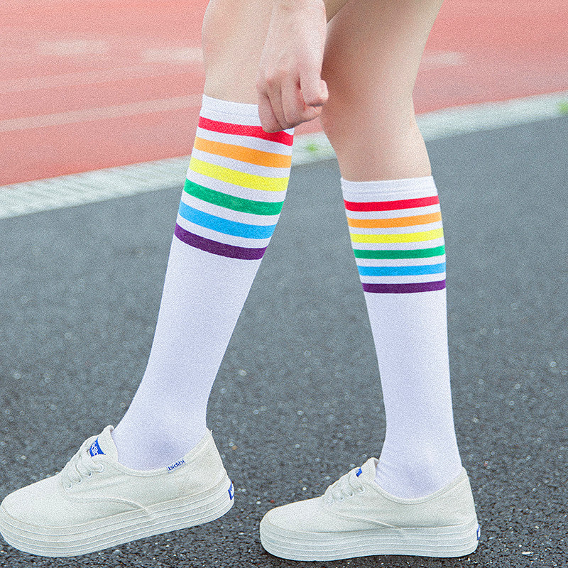Harajuku Rainbow Socks PN0529