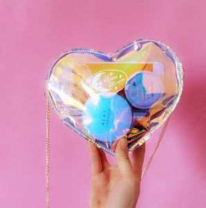 Harajuku Heart Colorul Shoulder Bag PN0277