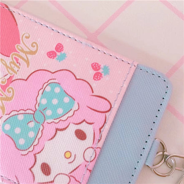 Cinnamorol and My melody Card Holder PN1539