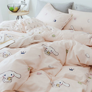Cute Cinnamoroll Bedding Set PN1306