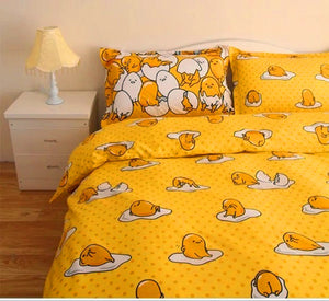 Cute Gudetama Bedding Set PN0783