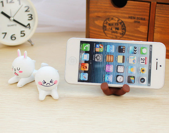Cartoon Cony Brown Phone Holder PN1428