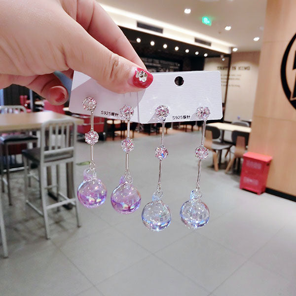 New Style Glass Ball Earrings PN1607