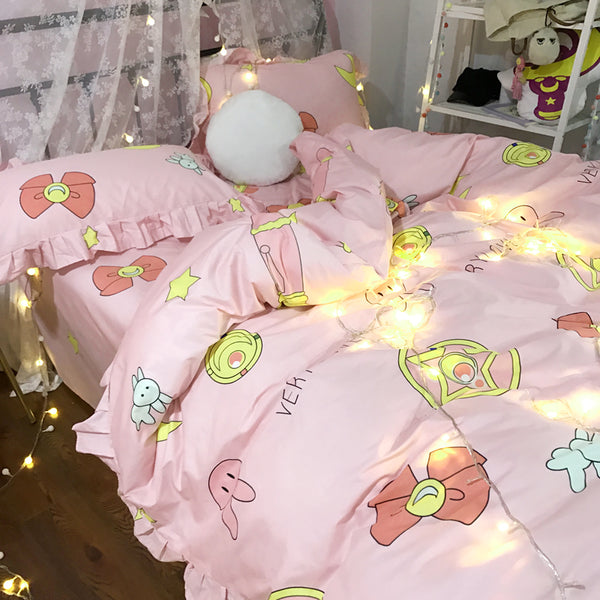 Sailormoon Luna Bedding Set PN2214
