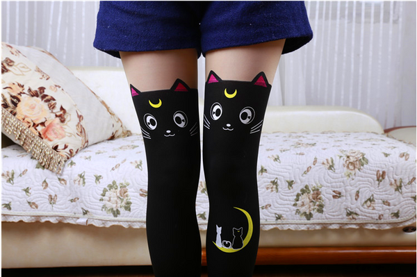 Sailor Moon Pattern Socks PN0372