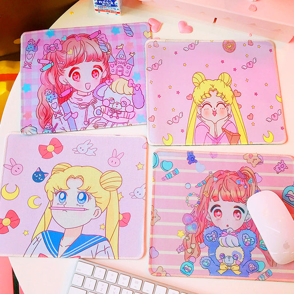 Sailormoon And Cartoon Mouse Pad PN0602