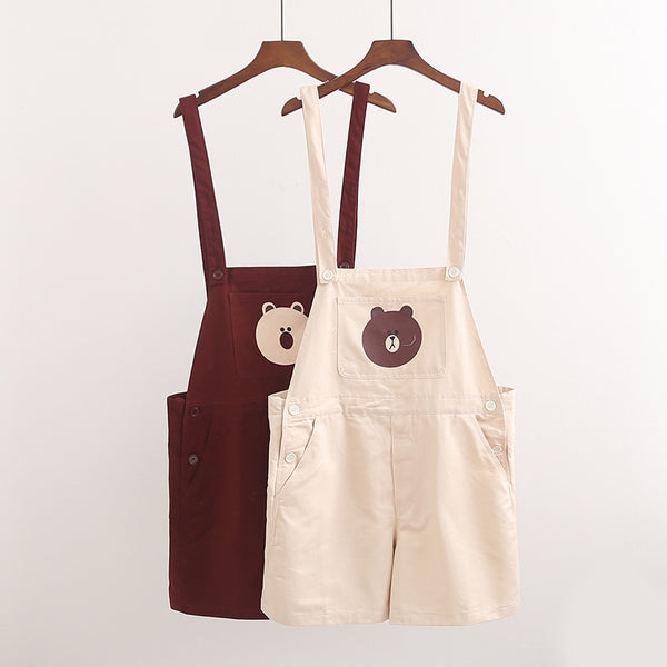 Fashion Bear Strap Shorts PN1345