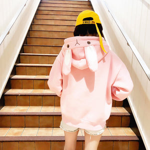 Cute Rabbit Ear Hoodie PN0933