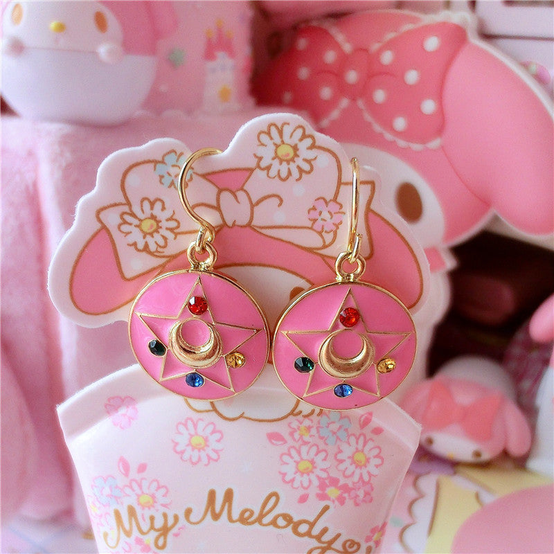 Sailor Moon Turning Earrings/Clips/Necklaces PN0399