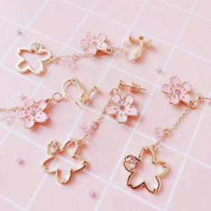 Fashion Sakura Earrings/Clips PN1481