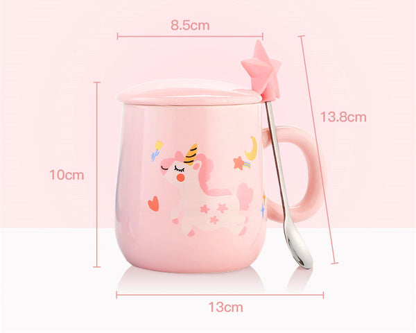 Dreamy Unicorn Ceramic Cups PN0359