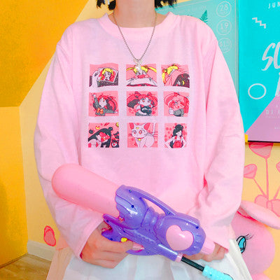 Kawaii Sailor Moon T-shirt and fleece PN0270