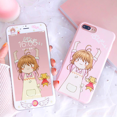 Cardcaptor Sakura Phone Case for iphone 6/6s/6plus/7/7plus/8/8p/X/XS/XR/XS Max PN0894