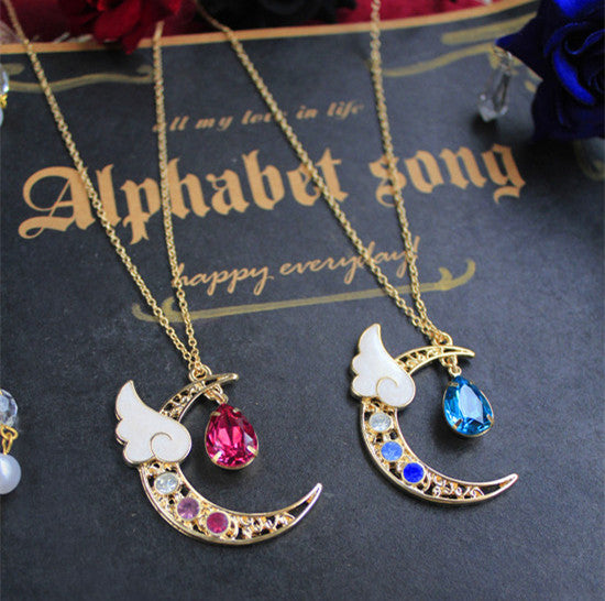 Fashion Moon Necklace PN0410