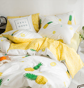 Cute Pineapple Bedding Set PN1558