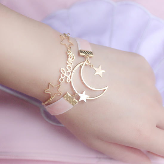 Love and Moon Bracelet PN0397