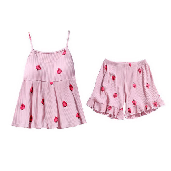 Sexy Strawberry Pajamas Suits PN1171