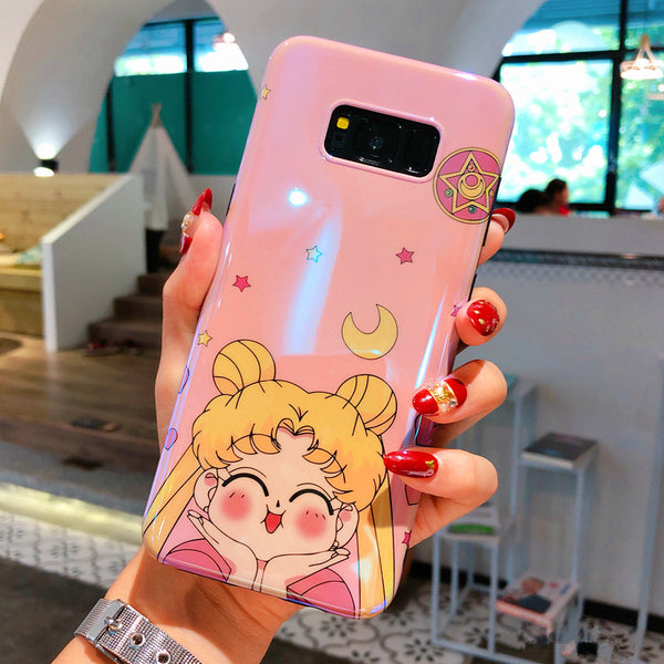 Sailormoon Phone Case for Samsung note8/note9/s7edge/s8/s8plus/s9/s9plus/s10/s10plus/s10E PN0893