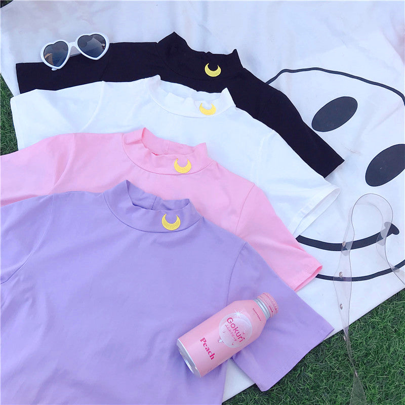 Cute Moon Tshirt PN0903