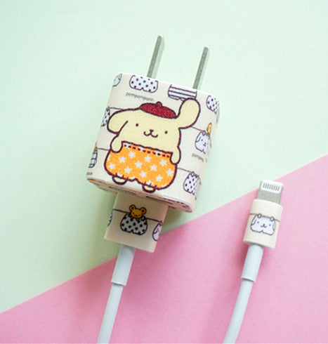 Pom Pom Purin Charger Stickers For Iphone PN1423