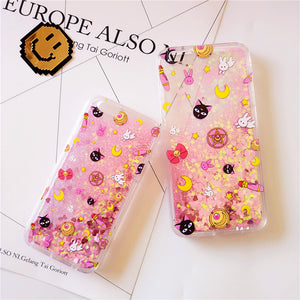 Liquid Sailor Moon Phone Case for iphone 5/5s/se/6/6s/6plus/7/7plus/8/8p PN0161