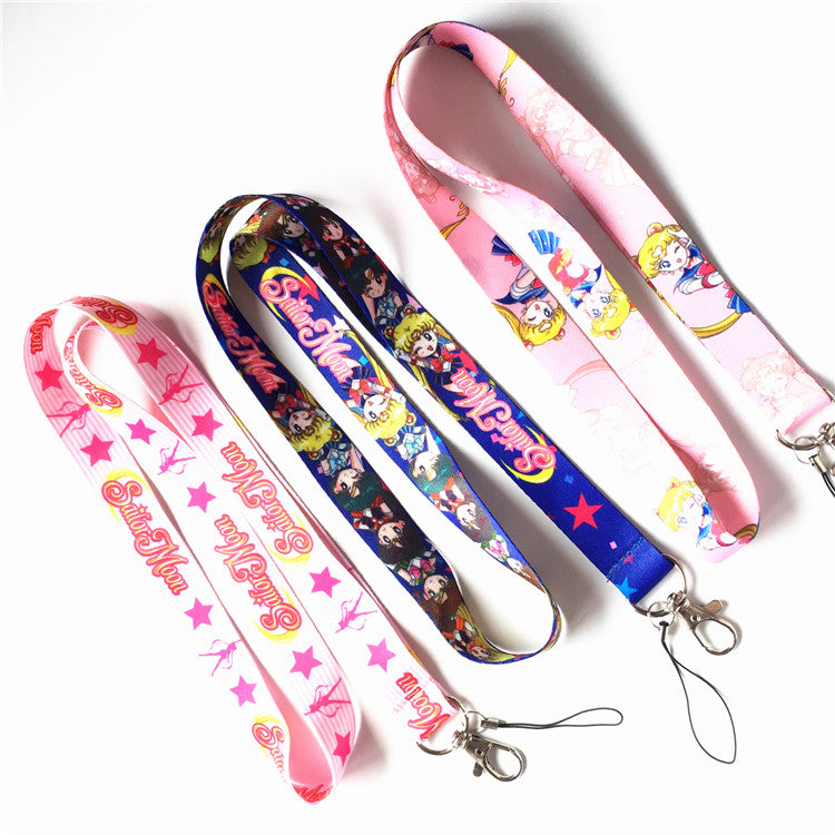 Cute Sailor Moon Phone Lanyard PN1191