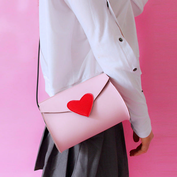 Japanese Girl Heart Single Shoulder Bag PN0318