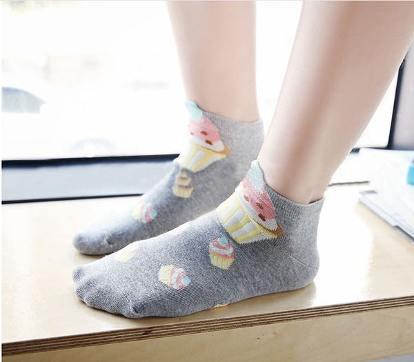 Cute Cupcake Socks PN1504