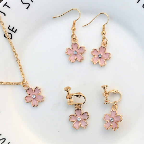 Sakura Pearl Earrings PN0413