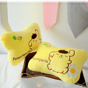 Pom Pom Purin Headrest And Shoulder pad PN1372