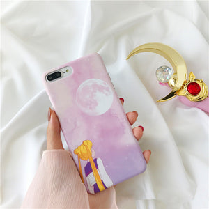 Sailor Moon Hard Phone Case for iphone 6/6s/6plus/7/7plus/8/8plus/X/XS/XR/XS Max PN0098