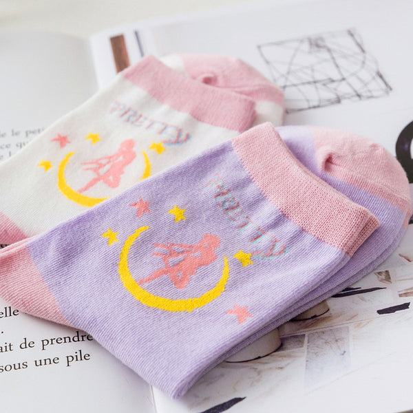 Sailormoon Harajuku Socks PN0545