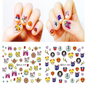 Sailor Moon Nail Stickers PN0409