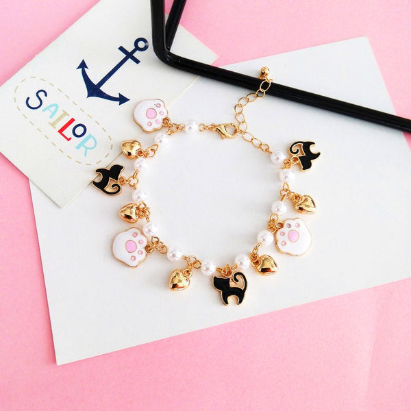 Pretty Paw And Cats Bracelet PN0700
