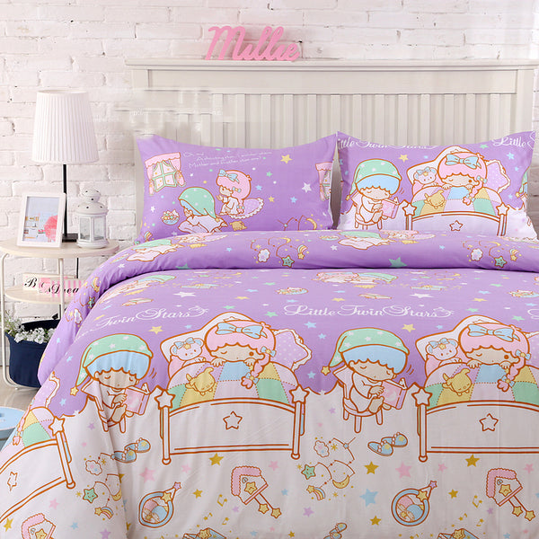 Kawaii Little Twin Stars Bedding Set PN1212