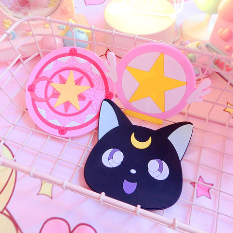 Sailormoon Luna And Sakura Cup Mat PN0974