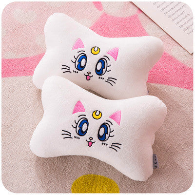 Sailormoon Luna And Sakura Headrest And  Shoulderpad PN0619