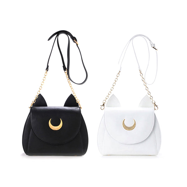 Sailor Moon Shoulder Bag White/ Black PN0280