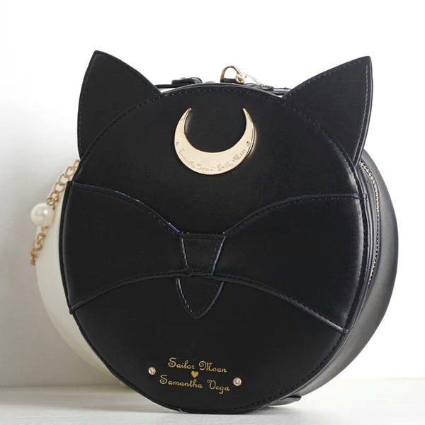 Sailormoon Luna Round Shoulder Bag PN0274