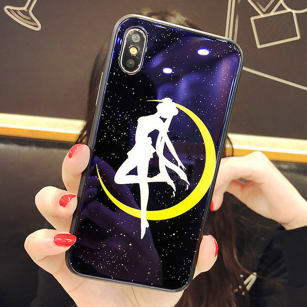 Sailormoon Blu-ray Phone Case for iphone 6/6s/6plus/7/7plus/8/8plus/X/XS/XR/XS Max PN0075
