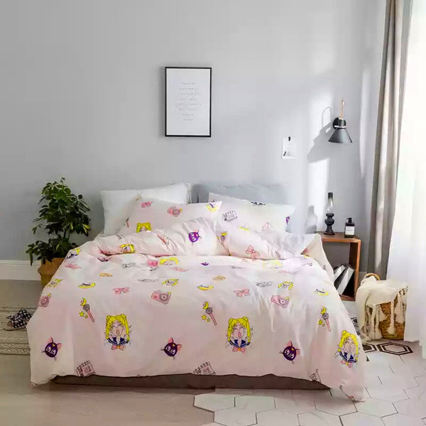 Sailormoon Collections Bed sheet,Quiltcover,Pillowcover PN0352