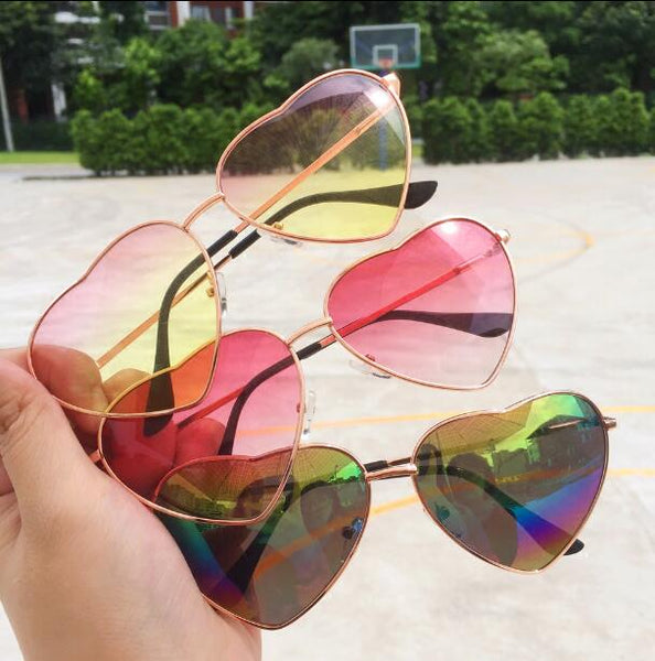 Ombre Heart Shaped Sunglasses PN0386