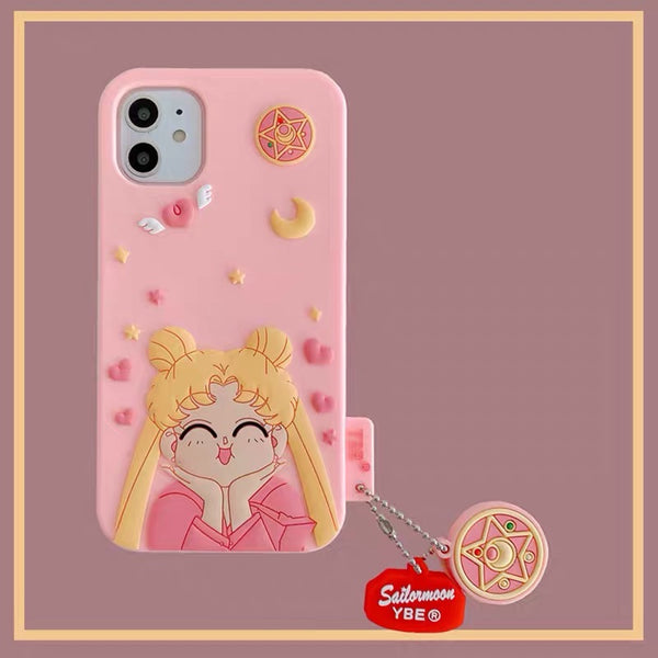 Sailormoon Phone Case for iphone 7/7plus/8/8P/SE/X/XS/XR/XS Max/11/11pro/11pro max PN2925